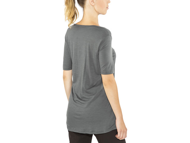 Aclima LightWool Loose Fit T-Shirt Damen iron gate